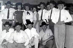 Bank of Winnfield - 1955 Employee Bow group photo